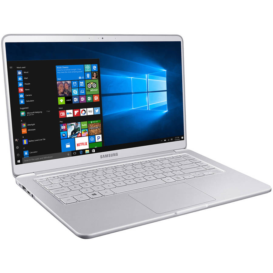 "Samsung NP900X5N-X01US 15"" Laptop, Windows 10 Home, Intel Core i7-7500U Processor, 16GB RAM, 256GB Solid State Drive"