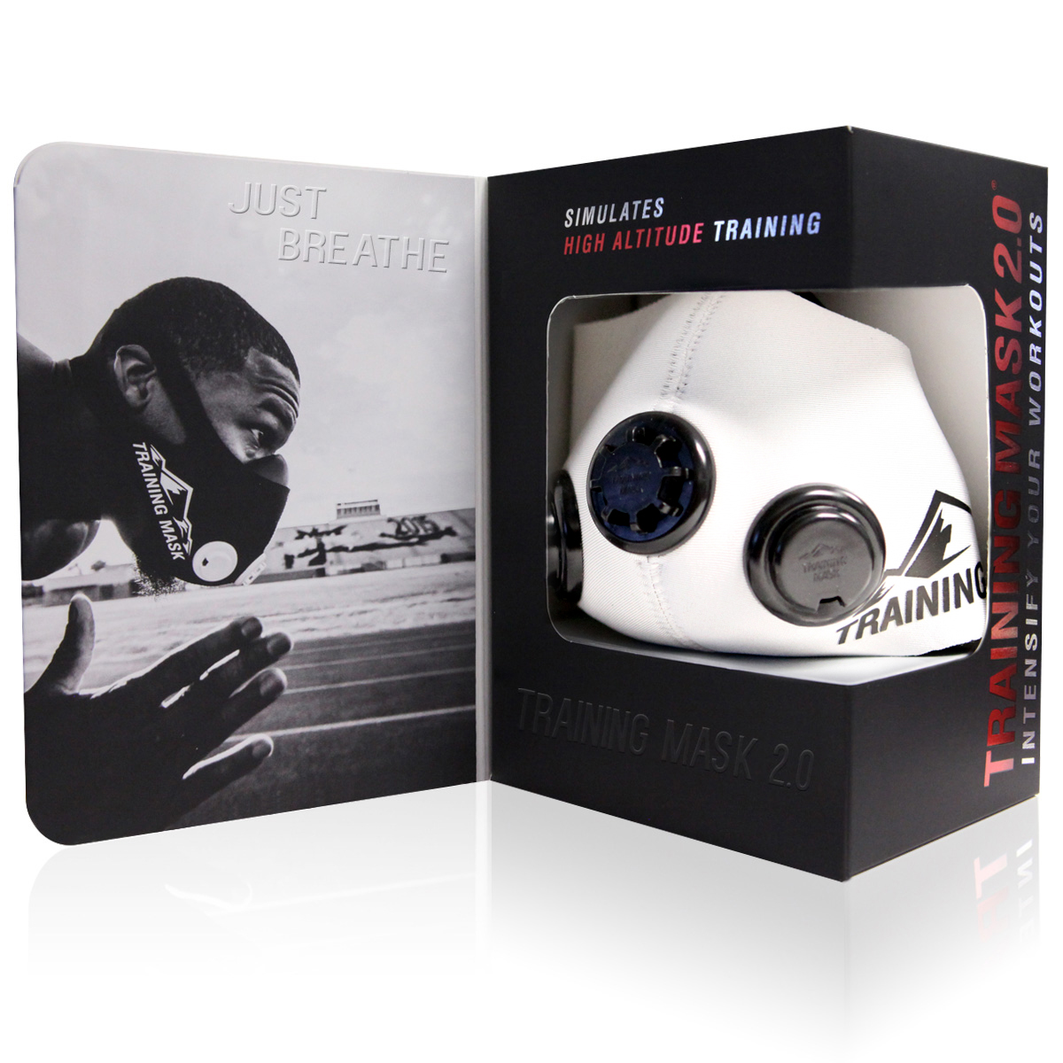 Elevation Training Mask 2.0 High Altitude Simulation - WHITEOUT