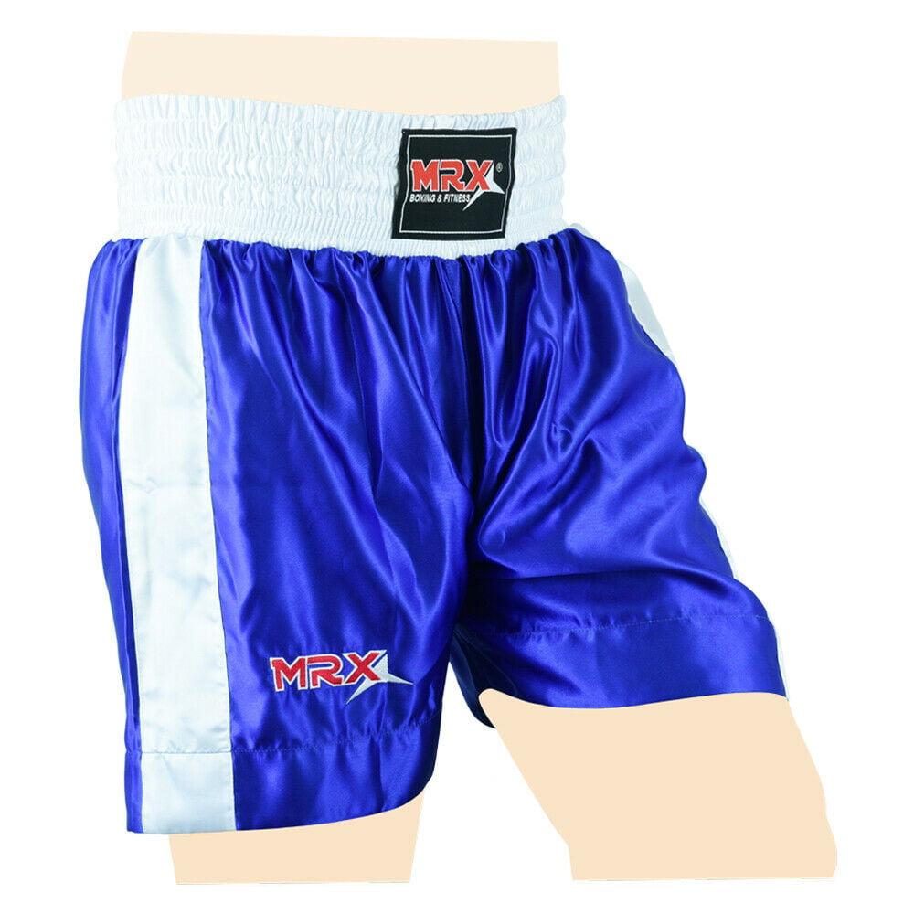 Kick Boxing /& Freestyle Pantalones Kickboxing Jogging Bottoms MMA Pantalones tailandeses Boxeo Ropa Muay Thai Boxeo Gear Poli/éster Tela Sat/én Rojo 150Cm M.A.R International Ltd