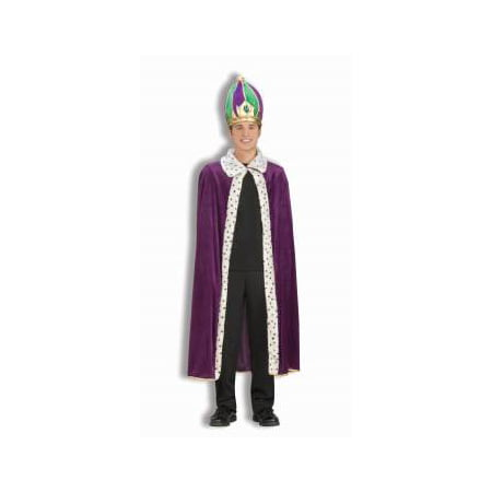MARDI GRAS ROBE & CROWN SET - New Orleans Mardi Gras Costumes