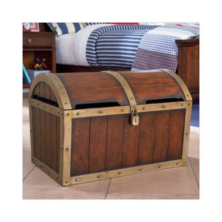 Powell Furniture Shiver Me Timbers Toy Chest in Distressed ...
