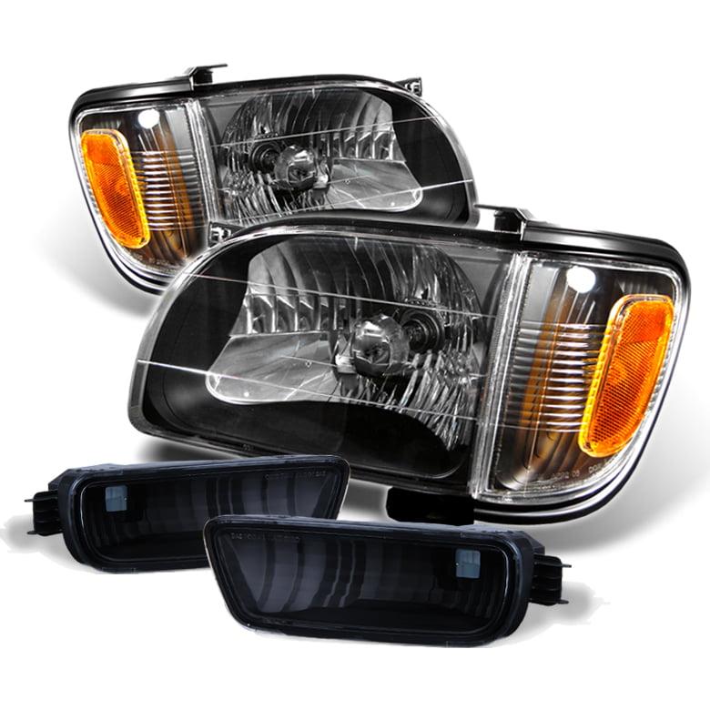 Toyota Tacoma Headlights: For 2001-2004 Toyota Tacoma Headlights Amber Corner Bumper