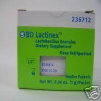 BD Lactinex Lactobacillus Granules Probiotic Packets, 12 (Lactinex Granules)