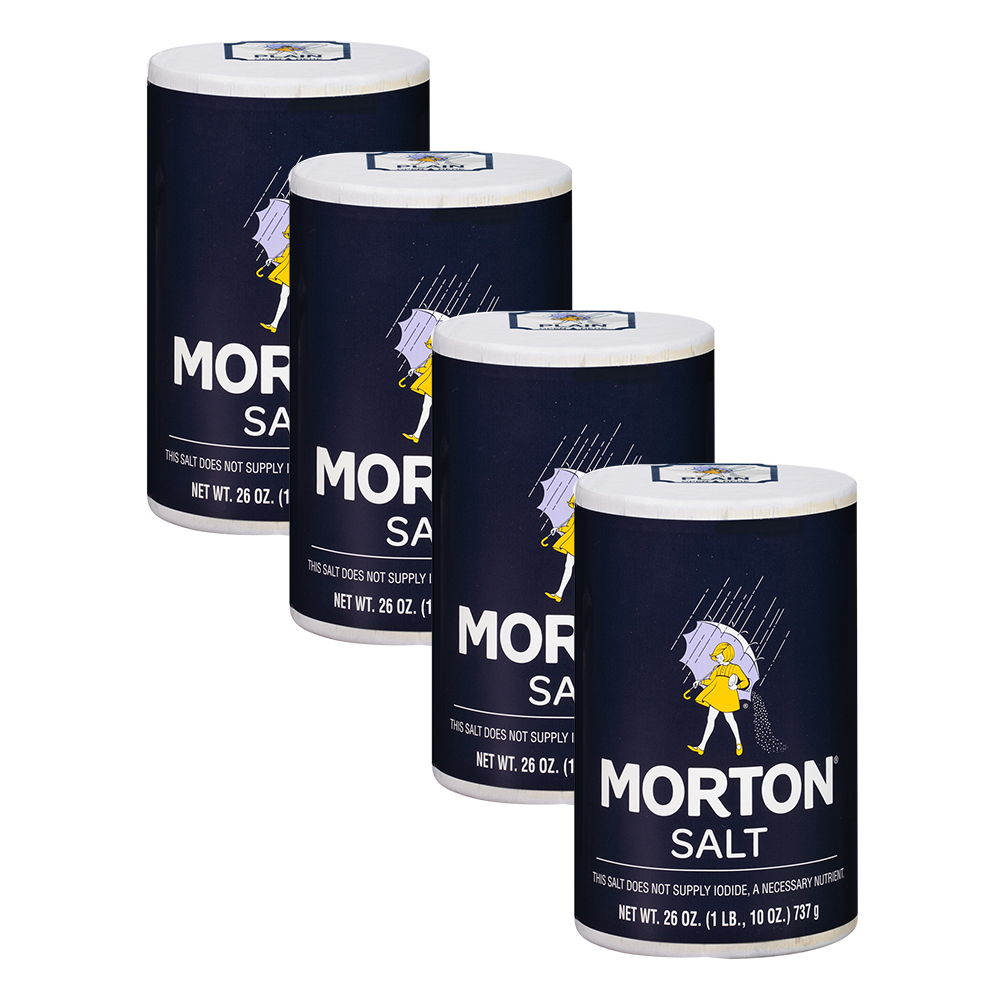 Morton Salt, 26 Oz (4 Pack)