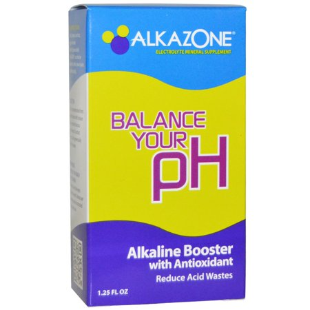 Alkazone Alkaline Booster with Antioxidant Drops, 1.2 -
