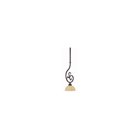Nuvo Tapas 60/043 1-Light Mini Pendant - 6W in. - Old Bronze