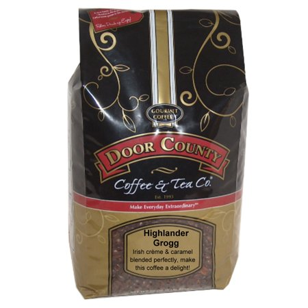 Door County Coffee Highlander Grogg 5lb Whole Bean Specialty Coffee