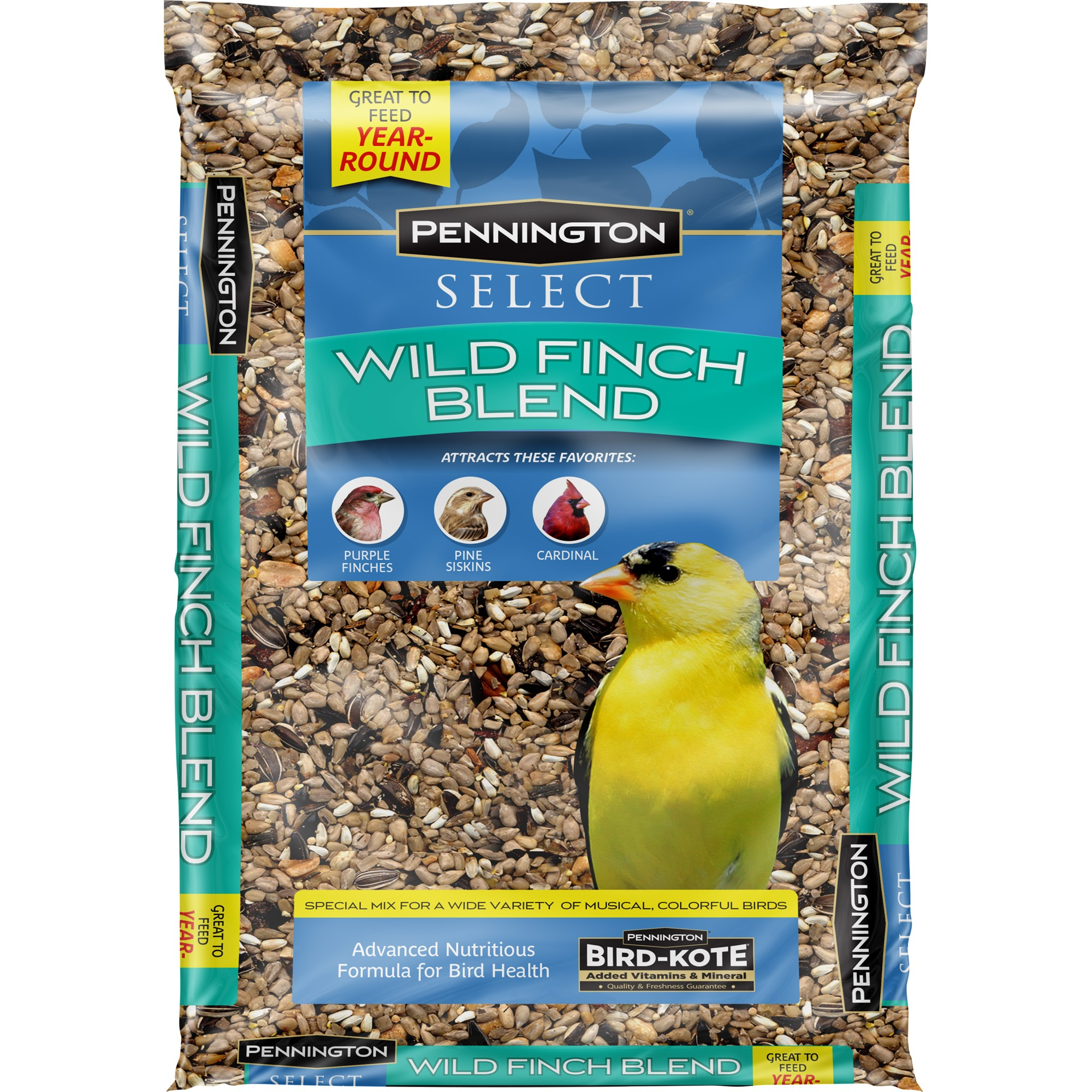 Pennington Wild Bird Feed and Seed Select Wind Finch Blend, 10 LBS