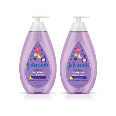 Johnson's Bedtime Calming Baby Bubble Bath, Twin Pack, 2 x 27.1 fl. oz ()