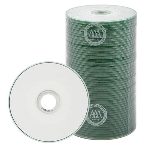 800 Spin-X 24x MINI CD-R Blank Media 22Min 193MB White In...