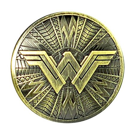 Pin - DC Comics - Wonder Woman Shield Pewter Lapel New Licensed 45749 (Cheap Lapel Pins)