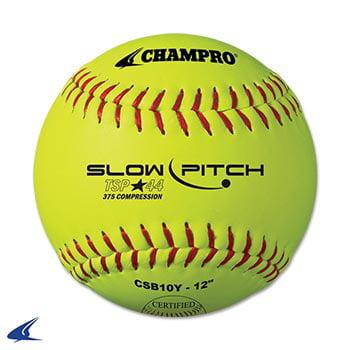 Tournament .44 Slow Pitch Softball- 12