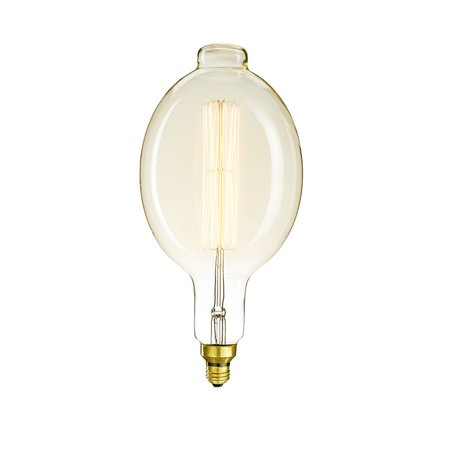 Bulbrite Grand Nostalgic 60W Incandescent Thread Filament BT56 Light Bulb