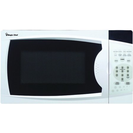 Magic Chef(R) MCM770W .7 Cubic-ft, 700-Watt Microwave with Digital Touch