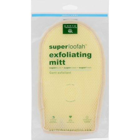 Earth Therapeutics Loofah   Super   Exfoliating   Bath Mitt   1 Count