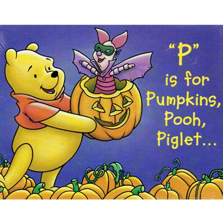 Winnie the Pooh Halloween 'P is for Pumpkins' Invitations w/ Envelopes (8ct) (Lake Winnie Halloween)