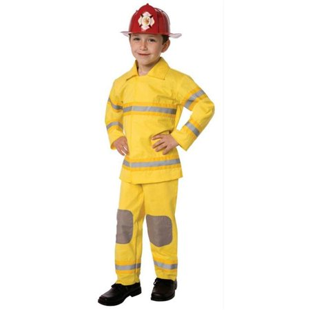 Costumes For All Occasions Lf3522cmd Fireman Child Medium