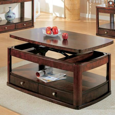 Coaster Furniture Coffee Table Dark Cherry