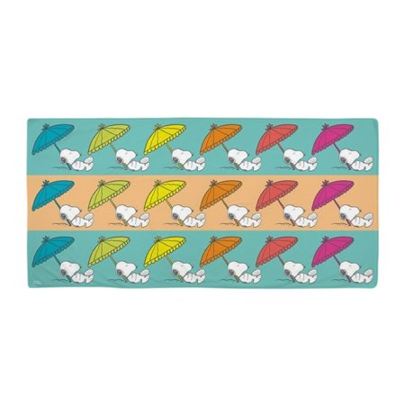 CafePress - Snoopy Napping - Large Beach Towel, Soft 30