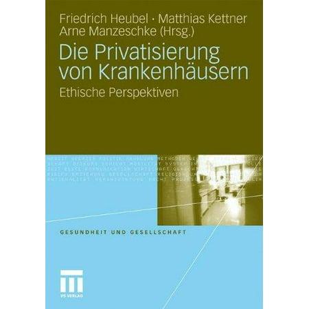 Die Privatisierung von Krankenhausern: Ethische Perspektiven (Gesundheit und Gesellschaft) (German Edition) - image 1 de 1
