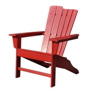 Panama Jack Adirondack Chair-Color:Red