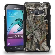 GALAXY AMP-2 / EXPRESS-3 CASE, AUTUMN WOODS CAMO TREE CASE BELT CLIP HOLSTER FOR SAMSUNG GALAXY AMP-2 EXPRESS-3 (AT&T, Cricket SM-J120A)