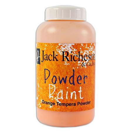 Powdered Tempera Paint  (Orange) (Powder Paint Party)