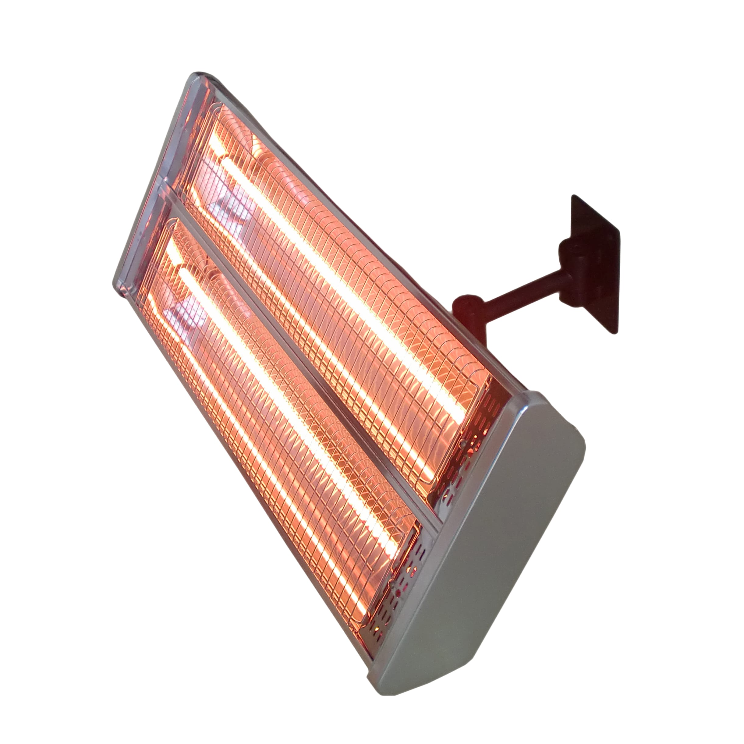 Hiland Electric Double Heating Wall Mount by AZ Patio Heaters