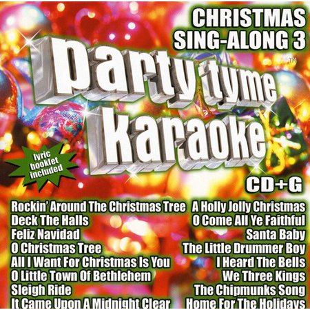 Party Tyme Karaoke: Christmas Sing-Along, Vol. 3 (CD) - Halloween Sing Along Cd