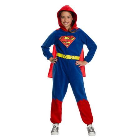 Halloween 2019 Dc Clubs (Halloween DC Super Heroes Superman Girl's Onesie)