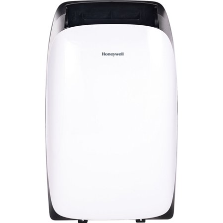 Honeywell Portable Air Conditioner with Heater, Dehumidifier & Fan Cools Rooms Up To 700 Sq. Ft. with Remote Control (White and Black) ()