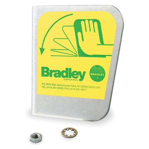 BRADLEY S30-071 Stainless Handle, Includes Hardware