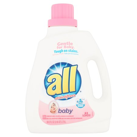 All With Stainlifters Baby Liquid Laundry Detergent  94 5 Fl Oz