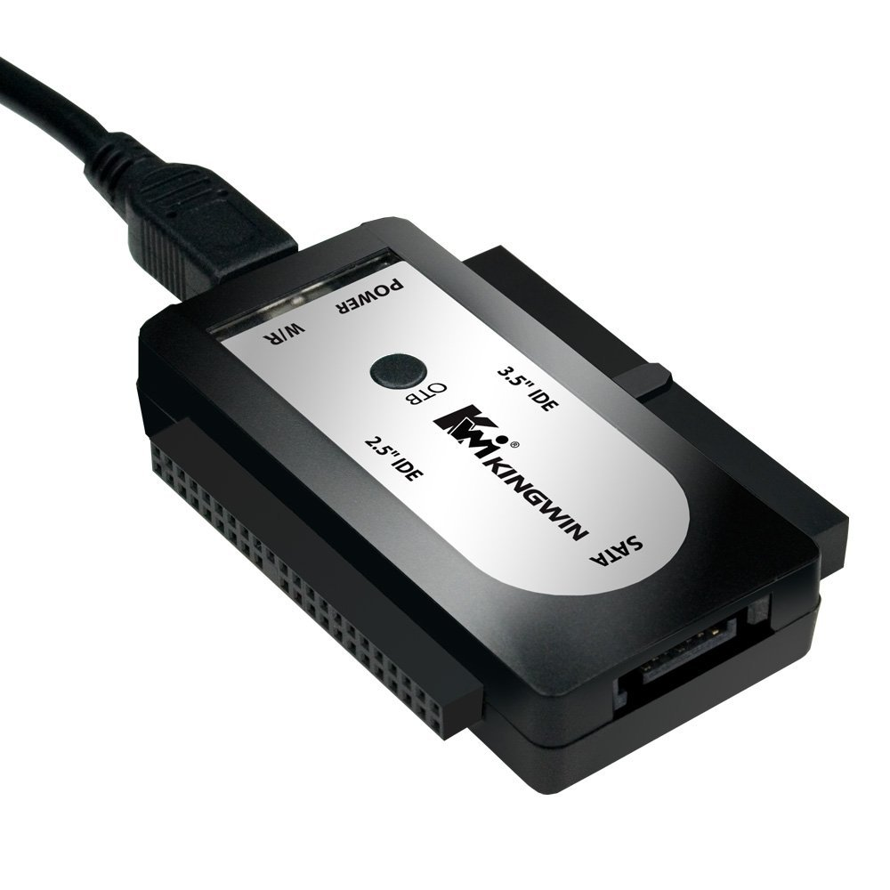 Kingwin EZ Connect USI-2535 USB to SATA & IDE Adapter