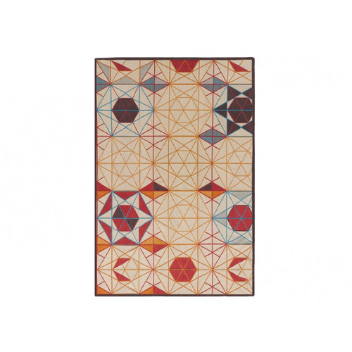 GAN RUGS Killim Hexa Handmade Orange Area Rug