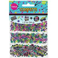 Amscan Confetti Value Pack, Totally 80's!