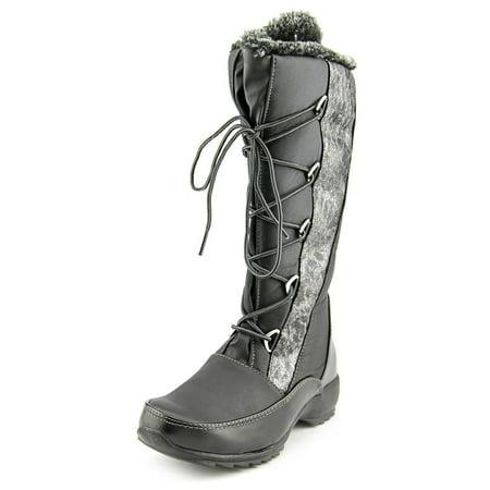 Sporto Predator Women  Round Toe Canvas Black Snow Boot ()