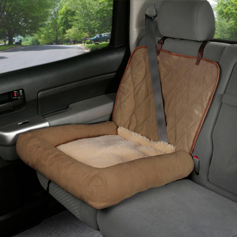 Solvite Solvit Car Cuddler Booster Seat, Small Tan