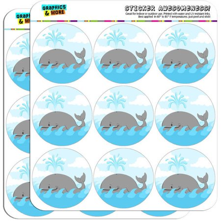 Cartoon Whale Ocean 18 2