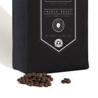French Roast Coffee Beans - Single Source Brazilian Dark Blend - Small Batch, Certified Organic - 32 oz - 2 lb - Handcrafted Micro Roast By Stack Street