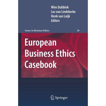 European Business Ethics Casebook -