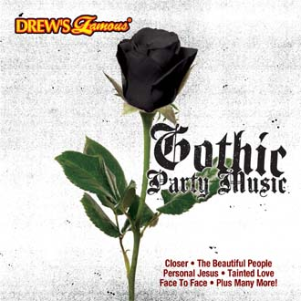 Gothic Party Music CD