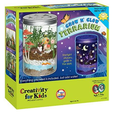 Creativity for Kids Grow 'n Glow Terrarium - Science Kit for