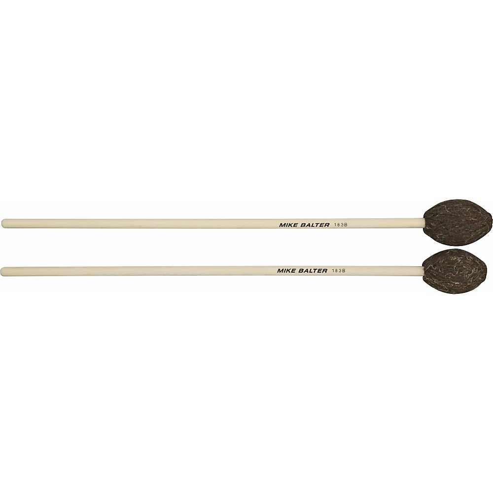 Mike Balter Universal Series Birch Handle Marimba Mallets Brown Yarn Hard-Extra Hard by Mike Balter