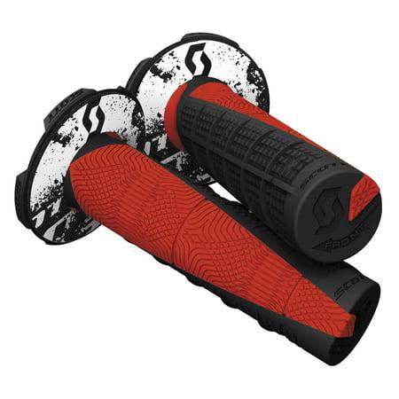 Scott USA 219627-4948 Deuce MX Grips - Black/Neon (Scott Usa Grips)