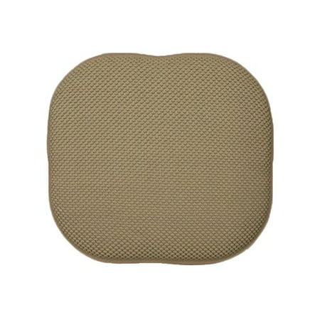 Memory Foam Chair/seat Cushion Pad : Non Slip (Taupe), Memory Foam Chair Cushion (1pc) - Available in 8 colors By DreamHome From USA ()