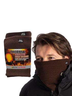 2 Pack Arctic Extreme Mens Neck Warmers, Womens Neck Warmers, Fleece Neck Gaiter Set