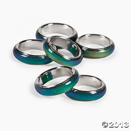 Mood Ring Bands (1 Dozen) - BULK - Rings In Bulk