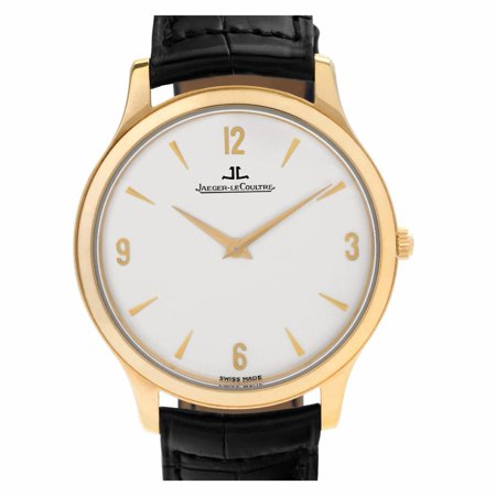 Pre-Owned Jaeger Lecoultre Master Control 145.2.79 Gold  Watch (Certified Authentic & Warranty)