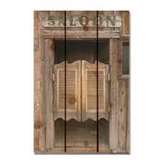 Day Dream HQ SD1624 16 x 24 in. Saloon Door Inside & Outside Cedar Wall Art